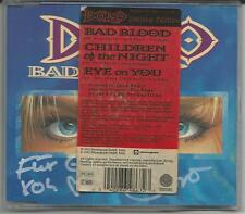 "DORO PESCH ""Bad Blood"" Limited 3-track Picture CD - signiert/signed - Sticker"