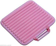 "Soft Pink 15.1"" Laptop Mini Netbook Notebbok Case Sleeve Protection Carry Handle"