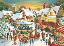 Ravensburger The Christmas Market 1000 piece festive jigsaw puzzle