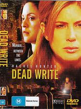 Dead Write -2007-Rachel Hunter-Movie-DVD