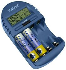 BC-500 La Crosse Technology Alpha Power Battery Charger Tester NiMH NiCd AA AAA