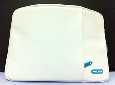 "Incase Protective Leather Sleeve Deluxe Case w/Pocket for MacBook Pro 15"" White"