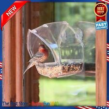 NEW Birdscapes Clear Window Squirrel Proof Bird Feeder FREE SHIPPING