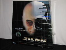 1998 Star Wars Masterpiece Anakin Skywalker Figurine and Darth Vader Book NIB