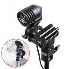 Single E27 Socket CFL Mount Umbrella Lamp Stand Holder for Stand Studio Light
