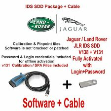 Jaguar Range Rover Vogue Evoque Diagnostics kit IDS SDD JLR v138 + V131 usb