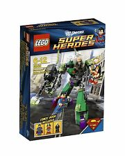 LEGO Super Heroes 6862 Superman vs Power Armor Lex Luthor Wonder Woman