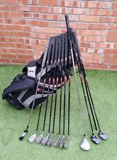 Full set mens Bay Hill golf clubs irons Mizuno driver stand bag