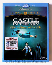 Studio Ghibli Laputa Castle in the Sky Blu-ray & DVD No Slipcover Mark Hamill