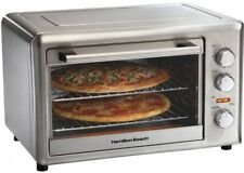 Hamilton Beach Large Capacity Stainless Steel Counter Top Oven, With Rotisserie