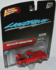 Johnny Lightning 2.0 - 1993 Ford SVT Lightning Pickup-RED - 1:64