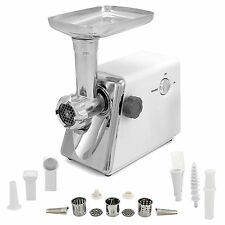 Electric Meat Grinder Mincer Sausage Maker Stuffer Food Kitchen Stainless Steel