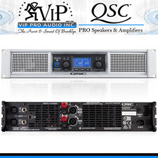 QSC GXD8 Professional DJ / CLUB 4500W Power Amplifier  With DSP GXD8-NA AMP. NEW