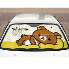 Rilakkuma Car Sunshade Cute Bear Relax Brown Japan Anime Kawaii San-x New