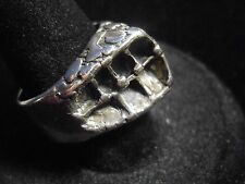 Vintage Studio Else and Paul Norway Sterling Silver Brutalist ring signed 925