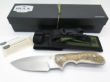BUCK STRIDER SOLUTION 0888BO 888 ATS-34 CUSTOM LIMITED ELK STAG TACTICAL KNIFE