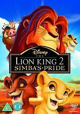 The Lion King Part 2 - Simba's Pride Special Edition Walt Disney DVD UK R2 NEW