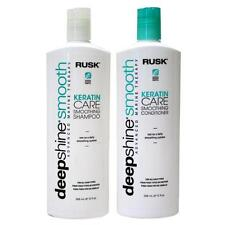 Rusk Deepshine Smooth Keratin Care Smoothing Shampoo Conditioner 12 oz / 355 ml