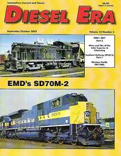 Diesel Era V16 5 LS&I SW7 Southern Railway EMD GP38-2 WP Western Pacific SD70M-2