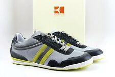 HUGO BOSS ORANGE LABEL KATIO GRAY /BRIGHT YELLOW SHOES SNEAKERS NEW SZ 8, 41 BOX