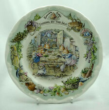 "Royal Doulton Brambly Hedge Dinning by the Sea  6"" Plate Boxed Mint Condition"