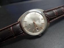 Vintage Renis Gents Mechanical Watch 1960S 17 jewels stainless steel case duward