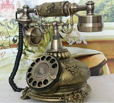 European Style Rotary Corded Telephone Retro Vintage Amplified Sound phone