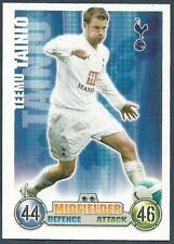 TOPPS MATCH ATTAX 2007-08 TRADING CARD-TOTTENHAM HOTSPUR-TEEMO TAINTO