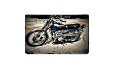 1972 honda cb450 Bike Motorcycle A4 Photo Poster