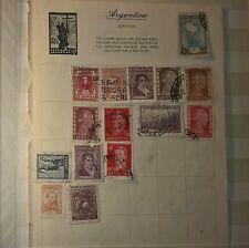 ARGENTINE Mixed Selected Stamps (NoL 64)
