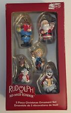 Kurt S Adler Rudolph The Red Nosed Reindeer Ornaments Mini