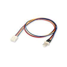 12V 4-pin Male to 4-pin Female PC Fan Power Extension Cable