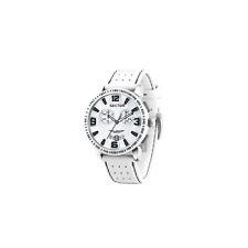Orologio SECTOR mod. 400 ref. R3271619001 Oversize XL Crono uomo in pelle bianco