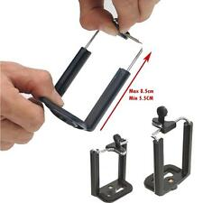 Universal Mobile Phone Smartphone Holder Clamp Tripod Mount iPhone S4 S5