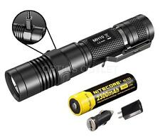 Nitecore MH10 1000 Lumens AC DC USB Rechargeable LED Flashlight w/ Battery