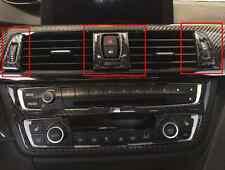 Carbon Fiber Front Vent Oulet Trim A/C Interior Trim M Sticker BMW F3x F8x