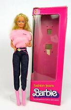 Vtg 1981 SUPERSTAR ERA FASHION JEANS Barbie Doll w/ Original Box Outfit Boots