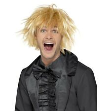 Mens 90's Messy Surfer Guy Wig Two Tone Dude Fancy Dress Funny Retro Fun Film