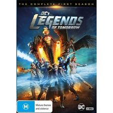 LEGENDS OF TOMORROW-Season 1-Region 4-New AND Sealed-4 DVD Set-TV Series