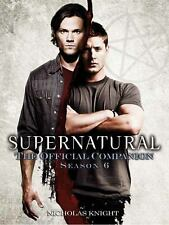 Supernatural: The Official Companion Season 5 Knight, Nicholas Books-Good Condit