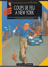 SCHWARTZ. Coups de feu à New York. Inspecteur Bayard