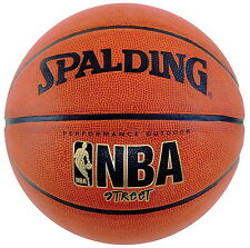 "Spalding NBA Street Basketball Official Size 7 29.5"" Indoor Outdoor"