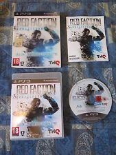 PS3 : RED FACTION ARMAGEDDON : EDIZIONE COMMANDO & RICOGNIZIONE - Completo, ITA