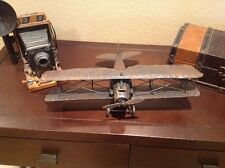 Vintage Military War Airplane Man cave Home Accent Decor