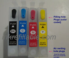 Refillable ink cartridges #88 for Epson stylus NX100 NX105 NX110 NX115 NX200 new