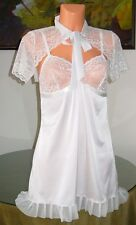 NWT La Perla Studio ROOM SERVICE Babydoll with Shrug, sz 3 / M