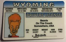 Beavis - Beavis and Butt-Head - Drivers License - Novelty