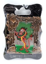 NEW Walt Disney Imagineering WDI Mushu Mulan Stained Glass Dragon Series Pin LE