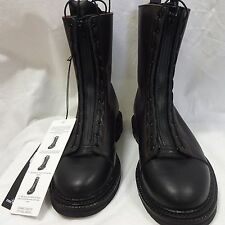MENS STONE ISLAND LEATHER BLACK COMBAT BOOTS...SIZE 40(UK6) ......£211 OFF RRP!!