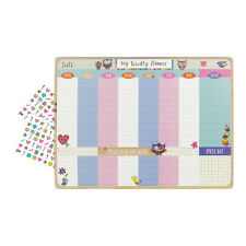 Busy Home Desktop Planner Pad - Diary – Weekly – Tear Off – large – Schedule